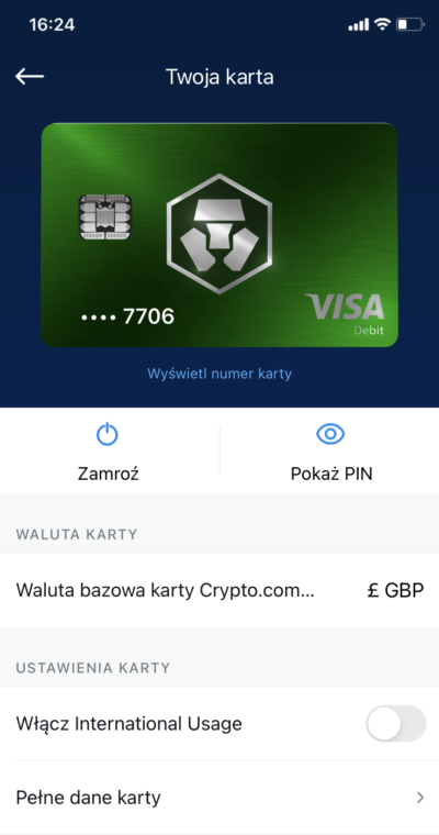 wirtualna karta crypto.com